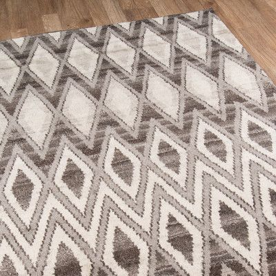 """Mercury Row Brice Hand-Knotted Natural Area Rug Rug Size: Runner 2'3"""" x 8'"""