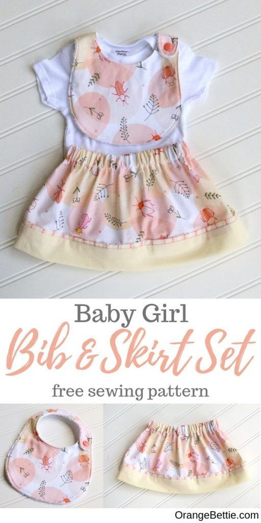 Baby Frock Sewing Tutorials : frock, sewing, tutorials, Skirt, Sewing, Tutorial, Perfect, Little, These, Step-by-step, Instructions.