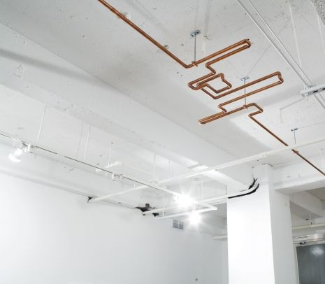 Copper Pipe Ceiling Sculpture Copper Pinterest Sculpture Copper And Ce