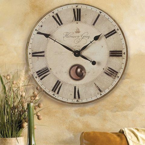 23 Old World Pendulum Wall Clock In 2020 Pendulum Wall Clock Wall Clock Tuscan Decorating