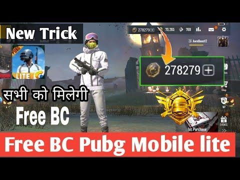 How To Get Free Bc In Pubg Mobile Lite Free Bc In Pubg Mobile Lite With Live Proof Youtube Play Hacks Hack Free Money Android Hacks