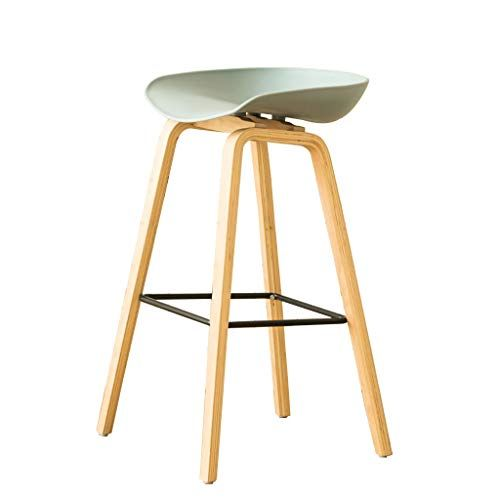 Ddz Barstools Bar Stool Nordic Simple Solid Wood Breakfast Chair