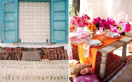 Inspiración marroquí, estilos únicos y llamativos.