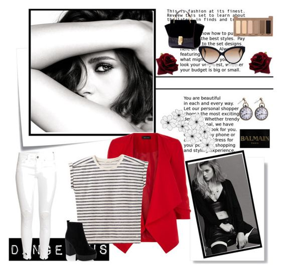 """""""1059"""" by sheiivaz-00 ❤ liked on Polyvore featuring Chanel, New Look, Lee, H&M, Cutler and Gross, Balmain, Urban Decay and Post-It"""