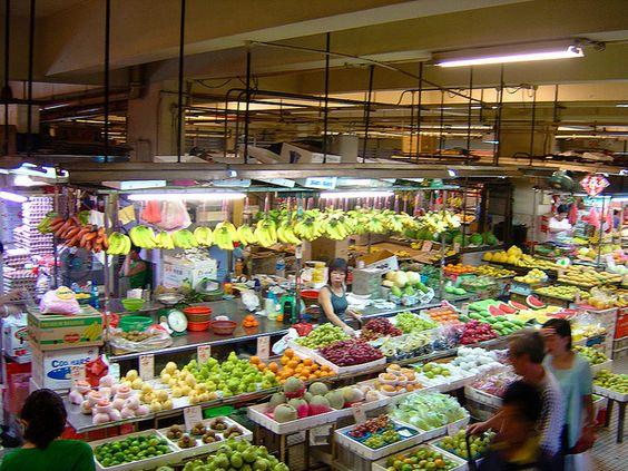 Chinatown market Singapore