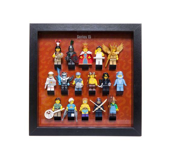 Lego Frame Display Acrylic Mount insert Series 15  minifigure minifig LASER CUT acrylic  FREE p&p