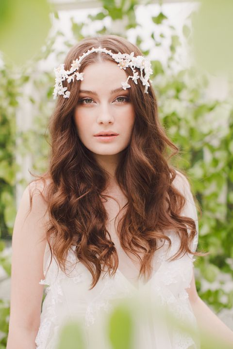 Exquisite Couture Headpieces by Jannie Baltzer - StrictlyWeddings.com Blog