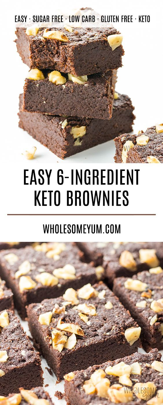The Best Keto Brownies Recipe Ready In Under 30 Minutes Just 6