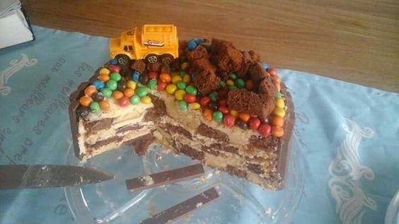 Dambord taart