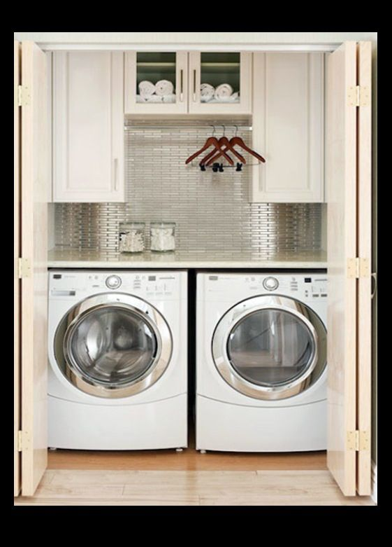Folding Doors For Laundry Room : Folding doors cupboards and laundry on pinterest