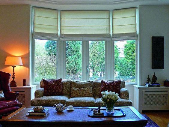 Cortinas: sistemas y telas para cada ventana | Conejo Negro