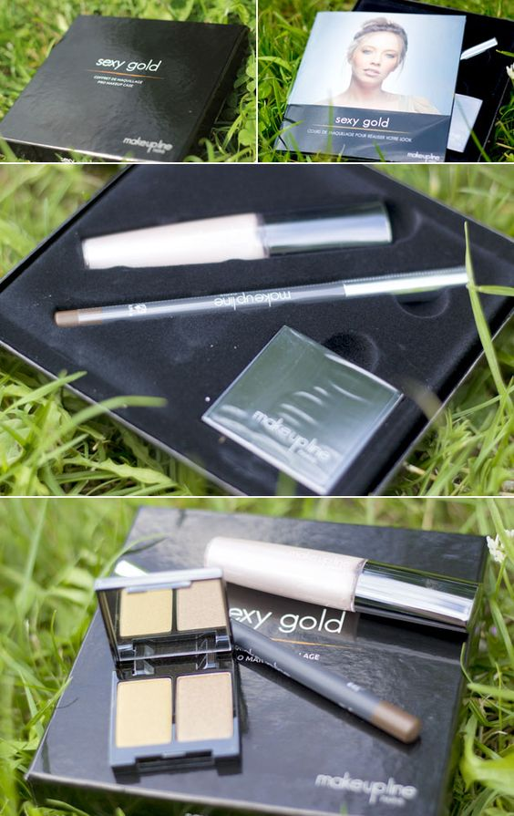 Make up Line box: nice products and a tutorial to recreate the look. I tried Sexy Gold look: love it !