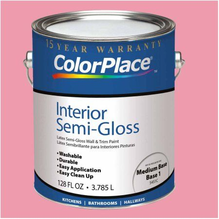 ColorPlace Interior Paint, 1 Gallon, Pink