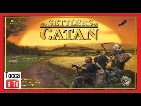 Tocca a te 036 - I Coloni di Catan - YouTube
