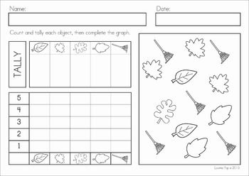 math worksheet : autumn  fall math worksheets  activities no prep  math  : Autumn Math Worksheets