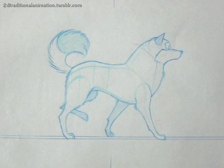2dtraditionalanimation:  Balto - Kristof Serrand