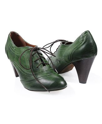 lovely green shoes
