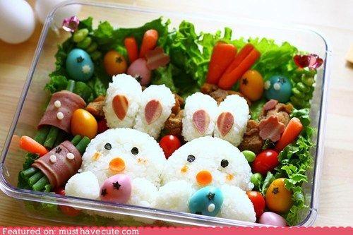 Bunny bento box