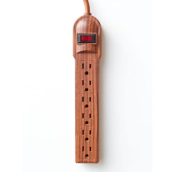 Simple Wood Power Strip - Guys