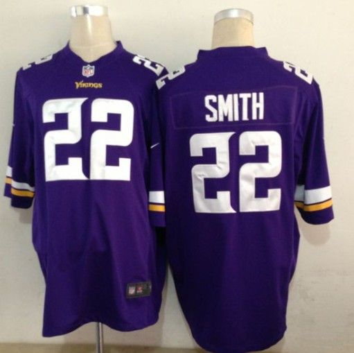 Wholesale NFL Nike Jerseys - women's minnesota vikings harrison smith nike purple game jersey