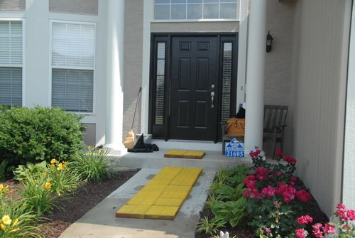 Follow the yellow brick road...to your own front door!