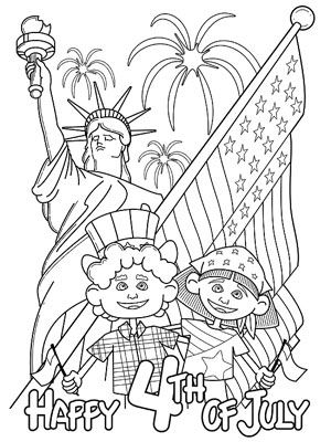 celebrate freedom week coloring pages - photo#42
