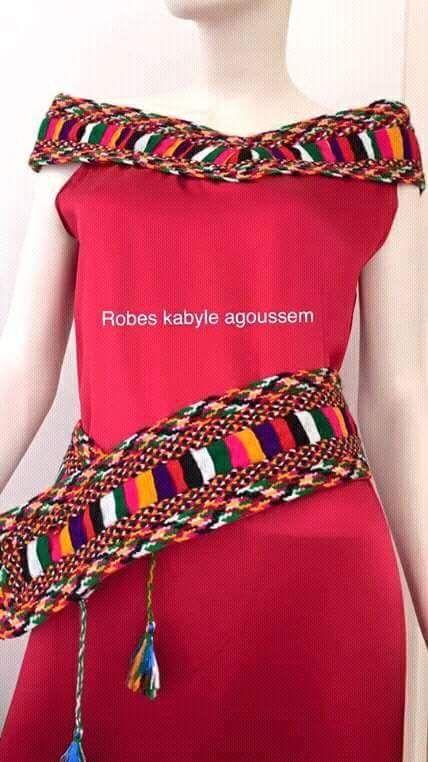 Robe kabyle moderne: