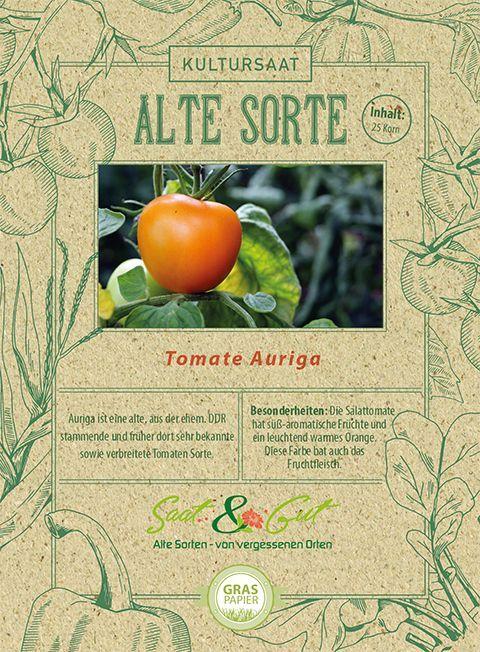 Alte Sorte Bio Salattomate Auriga Tomaten Sorten Saatgut Tomaten