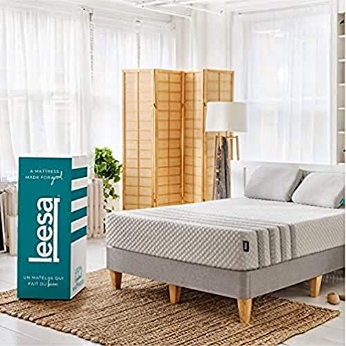 The Perfect Leesa Luxury Hybrid 11 Box Mattress King White Gray Top Rated Furniture Home Decor 1 In 2020 Comfort Mattress Cheap King Size Mattress Mattress Design