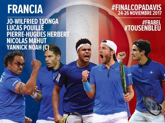 Finalistas Davis Cup 2017 Francia