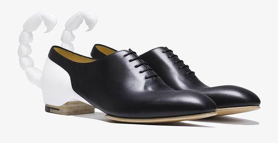 Benjamin John Hall diseña 7 modelos de calzado que integran artesanía con componentes electrónicos