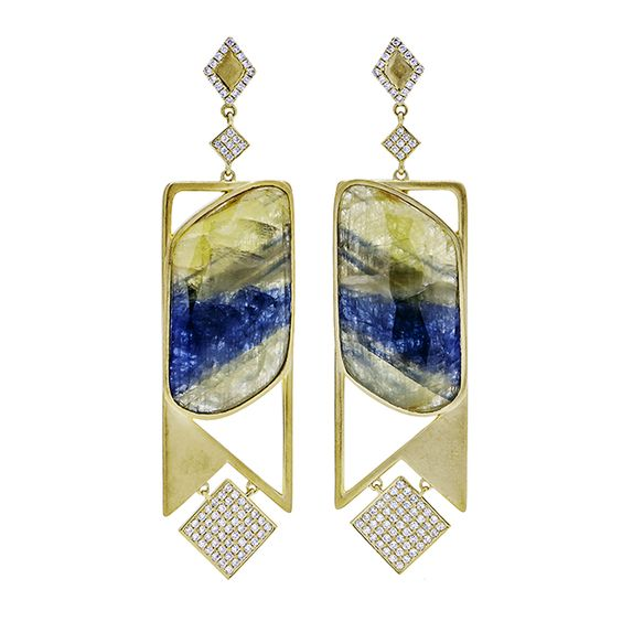 Tri-Colored Sapphires... by SAMIRA®