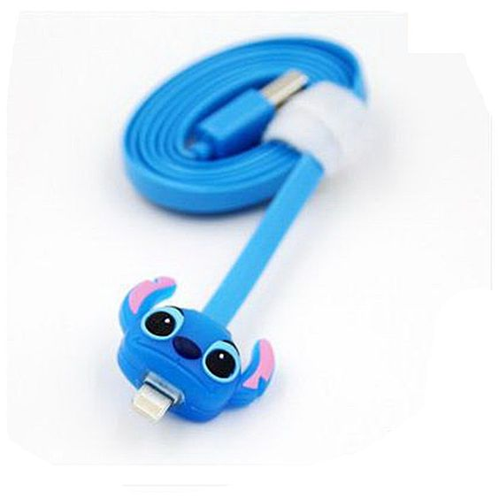 Out of This World Light Up Stitch USB Phone Cable