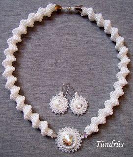 Klárik Tünde Modern Gyöngyékszerek-------------Tünde Klárik Fashion Jewelry: nyaklánc/collier