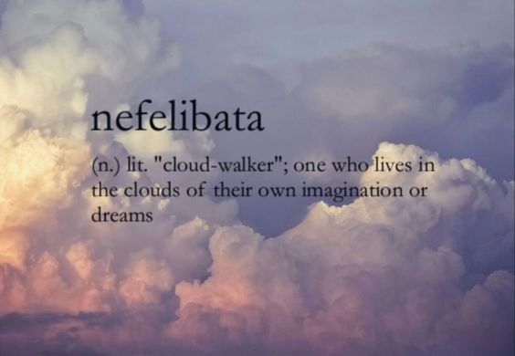 sky clouds quote nefelibata dream ...