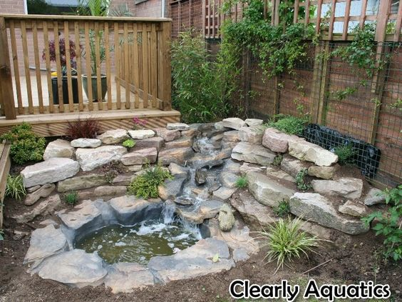 Ponds and waterfalls pre formed pond and waterfall for Waterfall features for ponds