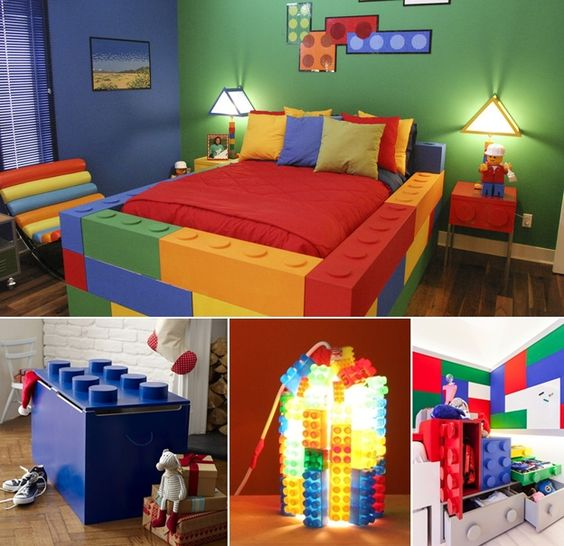 Awesome Diy Bedroom Furniture Ideas: 5 Lego Inspired Design Ideas That You And Your Kids Will