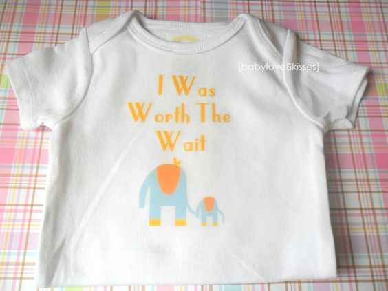 I Was Worth the Wait Onesie Short Sleeve