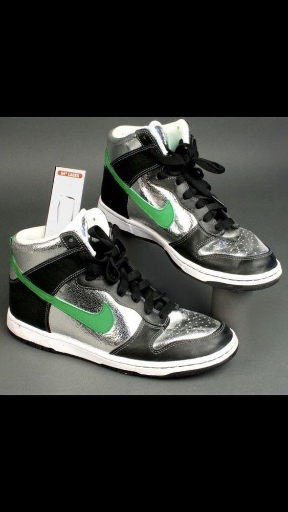 Nike Dunk Metallic Size 13 Step Up