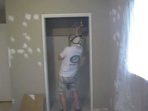 How To Paint A Closet With A Sprayer. Super Fast Closet Painting & 12 best How To Painting Videos images on Pinterest | Calgary ...