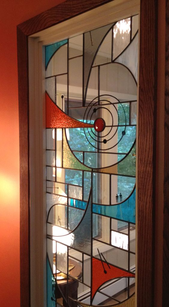 Modern Stained Glass Stained Glass Windows And Mid