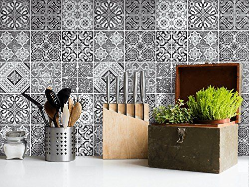 Self Adhesive Vinyl Tile Transfers, Bathroom Tile Decals Uk