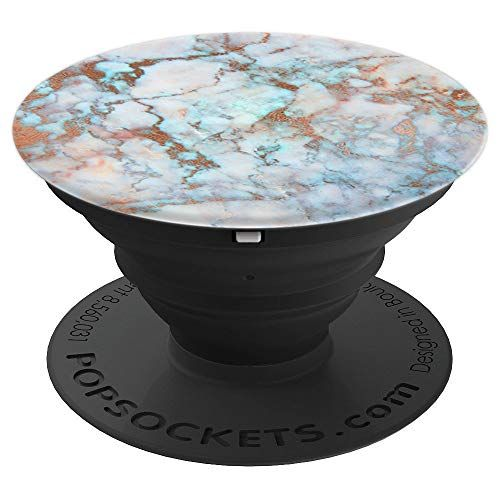 Rose Gold Teal Electric Blue Pink Marble For Girls And Wo Https Www Amazon Com Dp B07gsw31zs Ref Cm Sw R Pi Dp U X B Popsockets Seahorse Art Electric Blue