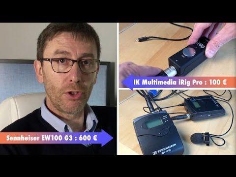 Comparatif de cinq micro externes pour l'iPhone