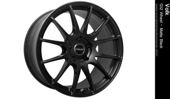 Volk - G12 Wheel