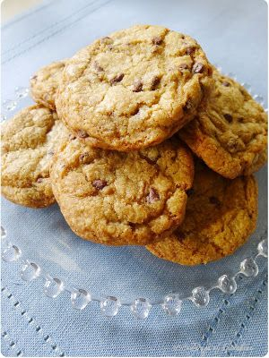 High altitude Browned Butter Chocolate Chip Cookies