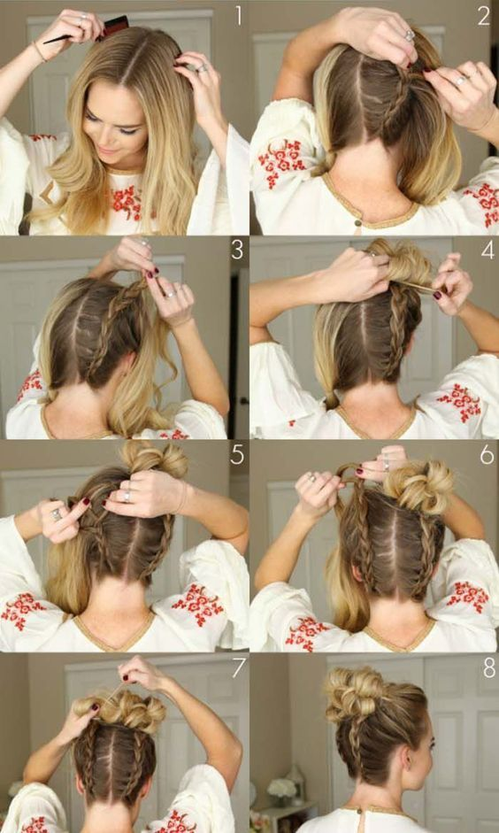 20 Simple Diy Tutorials On How To Style Your Hair In 3 Minutes Diy Hair Minutes Simple Style Tutorial Long Hair Styles Hair Styles Diy Hairstyles