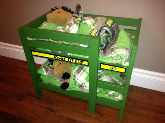 John Deere Bunk Bed Kit : John deere toy bunk bed playground tutorials pinterest