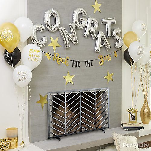 11 Ideas For A Stylish Graduation Party College Graduation Party