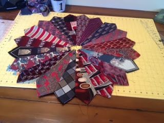 Just give me a needle!: Dresden Necktie Quilt Tutorial